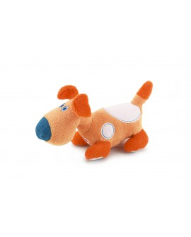 Peluche Chien Crazy Family - 18 cm