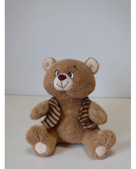 Ours en peluche marron de la marque Jemini - Vente d'ours en peluceh