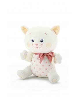 Peluche Chaton Baby Chic Trudi - 19 cm