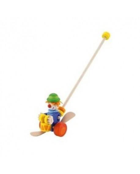 Jouet à pousser clown - Sevi