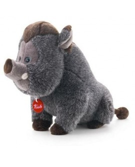 peluche sanglier william trudi 36 cm