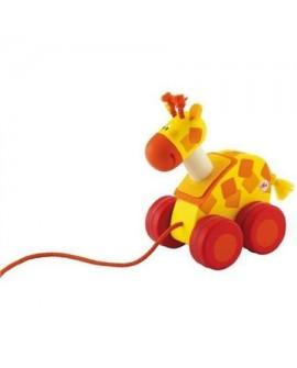 Mini jouet à traîner Girafe - Sevi