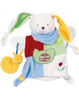 Barnabé le petit jardinier - Marionnette doudou et compagnie