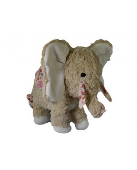 Peluche éléphant indi