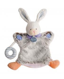 doudou marionnette lapin mixte
