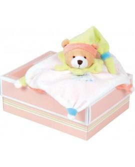doudou acidulé ours multicolore de doudou et compagnie