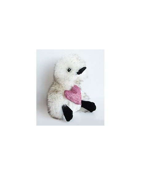 "peluche coin coin ""je t'aime"" 18 cm"