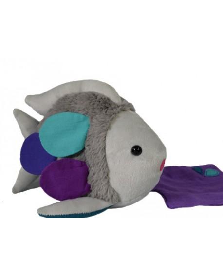 Doudou peluche poisson bubbleby