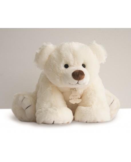 grande peluche gros ours écru -marque histoire d'ours