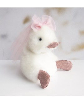 peluche coin coin just married 18 cm
