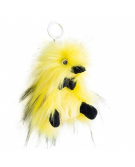 peluche coin coin porte clés punkie yellow